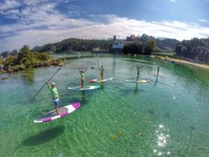 Paddle surf en llanes